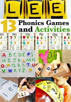 13 Phonics Games and Activities