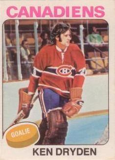 Pens Hockey, Hockey Cards, Baseball Cards, Montreal Canadiens, Ken Dryden, Goalie Mask, Hockey Goalie, National Hockey League, Nhl