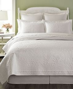Martha Stewart Collection Flower Crown Collector's Quilts - Quilts & Bedspreads - Bed & Bath - Macy's