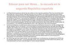 Resultado de imagen de maestros de la republica española Word Search, Words, School, Horse