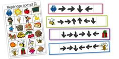 Repérage dans l'espace: coder un déplacement Montessori Materials, Montessori Activities, Preschool Math, Activities For Kids, Kindergarten, Act Math, Clever Kids, Jobs For Teachers, Number Games