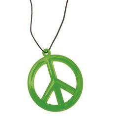 Collier Hippie Chic #bijouxdéguisements #accessoiresdéguisements #accessoiresphotocall