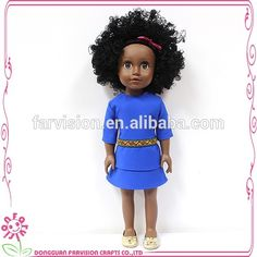 Loli doll African features Design Doll 18 inch african american afro dolls, View african american afro dolls, Farvision Girl Product Details from Dongguan Farvision Crafts Co., Ltd. on Alibaba.com