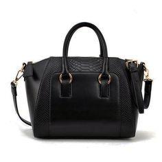 Women vintage pu leather crocodile handbags alligator handbags :*