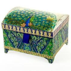Footed Peacock Jewelry Box http://shop.crackerbarrel.com/Footed-Peacock-Jewelry-Box/dp/B00AIVXZRG