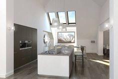 Loftgalerie, hochwertige Möbel und einzigartige Details – wir stellen euch ein luxuriöses Einfamilienhaus in Düsseldorf vor!