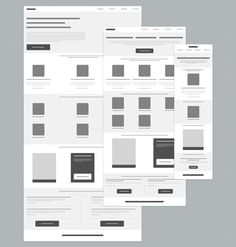 Dribbble - wireframe.png by Tyler Allen (ModernBits). If you like UX, design, or design thinking, check out theuxblog.com