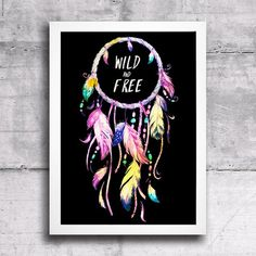 Poster Wild and Free - comprar online