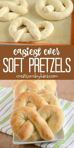 No Yeast Pretzel Recipe, Pretzels Recipe, Easy Pretzel Recipe For Kids, Seafood Recipes, Gourmet Recipes, Cooking Recipes, Skillet Recipes, Fun Recipes, Cooking Tools