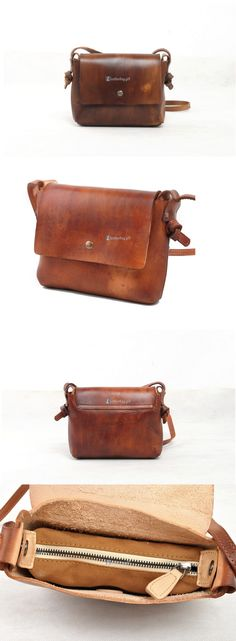 81a7cbf562ba $156.30 Small Brown Leather Shoulder Bag Ladies Handbags Кожаные Сумки, Кожаная  Сумка, Работа По