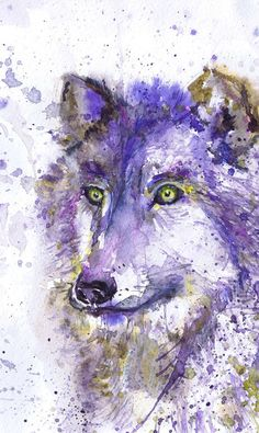 Wolf , watercolor art print , winter painting , wall decor, animal art, Wolf painting, nursery decor, Illustration, room decor, Valrart Wolf high quality fine art print of my original watercolor painting. It is the work of a watercolor series Portraits of the Heart   Size paper: 21 cm x 29,7 cm, 8 1/4 x 11.5/8, A4.(with white borders) - 18.00 $  29,7cm × 42cm, 11,69 × 16,54, A3(with white borders) - 36.00 $  Other dimensions are available upon request The paper used for my watercolo...