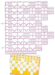 crochet barrados pinterest - Pesquisa do Google