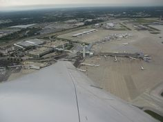 Taking off from Cleveland Hopkins International Airport, Ohio