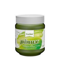 Xucker pinux - Pistazien-Kokos-Creme, nur mit Xylit gesüßt. Schmeckt wie Raffaello. GMO-frei. LowCarb.