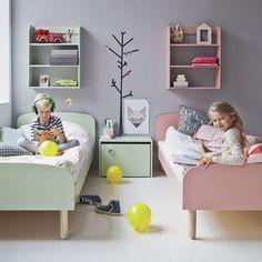 Ιδέες διακόσμησης για ένα δωμάτιο που το μοιράζονται ένα αγόρι και ένα κορίτσι.