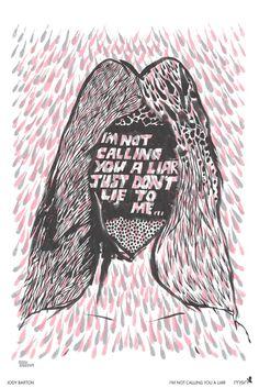 New ltd. edition screenprint for Florence & the Machine by Jody Barton