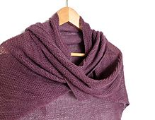 Ravelry: SimpleLines pattern by Anat Rodan free easy knitting pattern shawl
