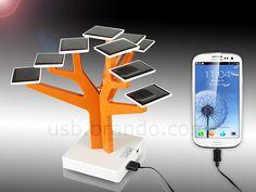 USB Solar Tree Charging Station