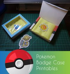 """My daughter has been pestering me for a Pokemon badge case/box for her badges for weeks. """"My badges shouldn't go into the Pokeball!""""     G..."""