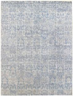 Modern Low-Contrast Rugs Gallery: C1165, Modern Low-Contrast Rug, Hand-knotted in Nepal; size: 8 feet 0 inch(es) x 10 feet 0 inch(es) living room/bedroom: something a little different