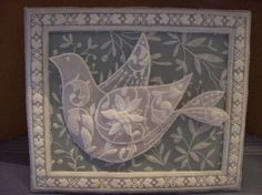 Christmas Dove by *1 wacky woman* - Cards and Paper Crafts at Splitcoaststampers