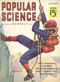 Vintage mountaineering gear. Whoddathunk?!