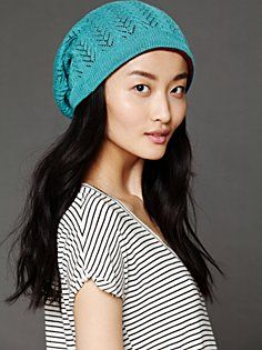 Twist Watch Slouch Beanie in accessories-hats