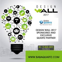 BABA QUARTZ - Sponsored and Exclusive Quartz Partner in Design Wall 2017 Mumbai.