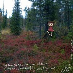 Palasia sateenkaaresta: Roadtrip to Lapland Day 4 - Doodle 5/5