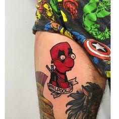 "@jeremy_d_ did this beautiful mashup piece of ""milpool' -------------------------------------------------#thesimpsonstattoo #thesimpsons #simpsonstattoo #simpsons #tattoo #moe #inked #tat #tattyslip #simpsonsfan #homer #bart #lisa #maggie #marge #mattgroening #futurama #cartoontattoo #cartoontats #epictattoo #simpsonstat #deadpooltattoo"