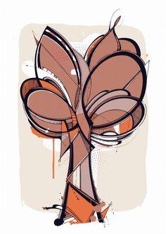 Urban Tree - Romain Froquet Technique: Giclée print Papier: Keaycolour Original Pure White 300gr Format: 35x50 cm Tirage: 30 ex Edition numérotée Signé par l'artiste