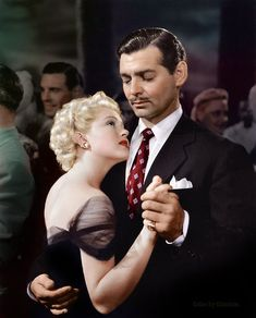 Clark Gable and Lana Turner in Honky Tonk (1941).