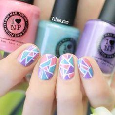 Nail Art: Mosaic Nails