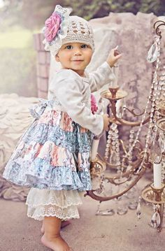baby girl vintage inspired fashion