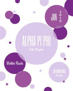 Alpha Pi Phi | Beta Chapter | Sorority | Brock University | St. Catharine's | Ontario | Canada | Winter Recruitment | Rush | International