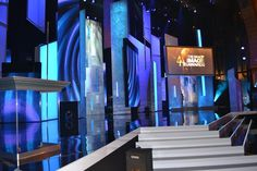 LA DAY 8 IN THE JIM BAG BLOG: AN UNFORGETTABLE EVENING - My Night At The 44th Annual NAACP Image Awards Show. Here's a shot of the glossy stage set for the show. Stage Set, Awards, Night, Bag, Purse