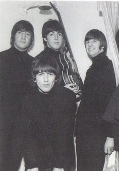 5th December 1965. The Beatles back on home turf for the last time as a group performing at the Liverpool Empire. Prior to the first the group posed for some photographs.