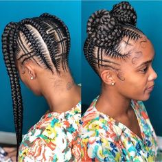 Best African Braided Hairstyles You Should Copy Next braidedcornrowhairstyles Black Girl Braids, Braids For Black Hair, Girls Braids, Braids For Kids, Ghana Braids Hairstyles, African Hairstyles, Weave Hairstyles, Dance Hairstyles, Bandana Hairstyles