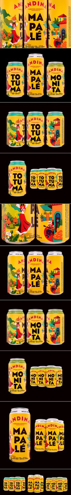 These Brews Capture The Spirit and Liveliness of Colombia — The Dieline | Packaging & Branding Design & Innovation News