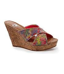 Gianni Bini Cork Wedge Sandals.  Great for Spring Summer 2013