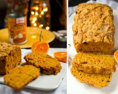 "Vegan Pumpkin Cranberry Loaf. ""Sugar Plum Fairy Bread"" + $500 Contest! (HisXHers Holiday Block Party)"