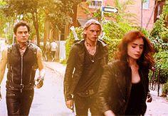The Mortal Instruments: City of Bones (2013) Shadowhunter Style #TMIMovie #ShadowHunterStyle #film #gif