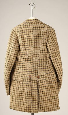 Ensemble Date: 1890–1900 Culture: British Medium: wool, cotton Accession Number: 1983.423a, b