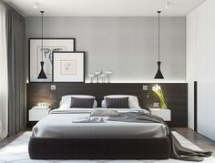 Fantastic minimalist master bedroom design ideas Do not let limited space hinder you from getting a minimalist bedroom that you have been longing for. Shove your bed against one of the corners so you still have enough space to move through. #minimalistbedroom #bedroomdesign #smallbedroom #small #minimalist #inspiration #bedroom #simple #girls #forcouples