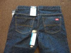 Dickies Womens Petite Relaxed Fit Mid Rise Boot Cut Jeans Work Pants 6P NWT #Dickies #CasualPants