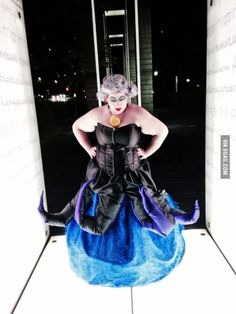 Tried my hand at Ursula from The Little Mermaid this year.