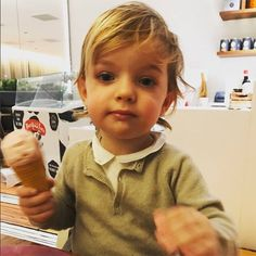 With those adorable blue eyes and charming grin, there is no doubt that Sweden's Prince Nicolas has been a favorite of royal watchers since his arrival in 2015. Here is a look at all of the little Prince's photos to date...  In March 2017, the little Prince enjoyed a pre-spring ice cream treat in this snap shared by his mom Princess Madeleine on Facebook.
