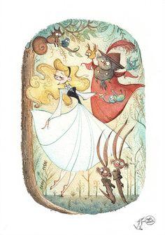 Sleeping Beauty by Agnès Ernoult [©2014]