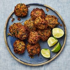 Sweet potato and quinoa fritters - Yotam Ottolenghi's party food recipes Yotam Ottolenghi, Ottolenghi Recipes, Potato Appetizers, Appetizer Recipes, Snack Recipes, Cooking Recipes, Healthy Recipes, Vegetarian Recipes, Vegetarian Finger Food