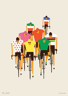A CYCLING STORY - PRINTS BY NIKI FISHER